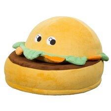 Critter Cushion Burger Kids Chair