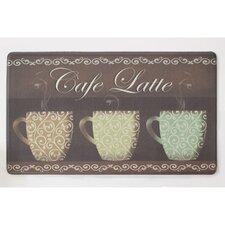 Café Latte Anti-Fatigue Cushioned Chef Mat