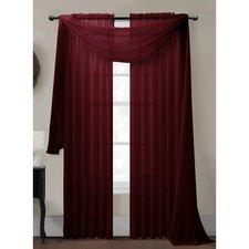 Diamond Curtain Sheer Single Panel Scarf