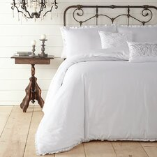 Twill Ruffle Bedding Collection
