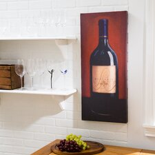 'Bordeaux' Print on Wrapped Canvas