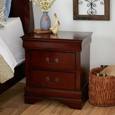 Allington 2 Drawer Nightstand