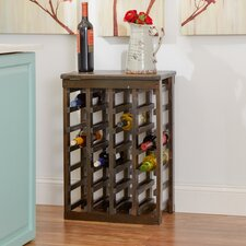 24 Bottle Table Top Wine Rack