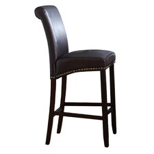 "Ellison 30"" Bar Stool with Cushion (Set of 2)"