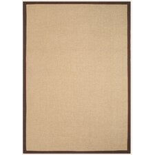 Lanetree Brown Jute Area Rug