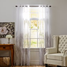 Natural Sheer Single Curtain Panel