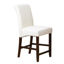 "Ellison 24"" Bar Stool with Cushion (Set of 2)"