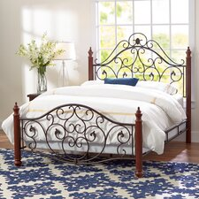 Graceful Scroll Bed