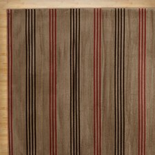 Winsome Light Brown Area Rug