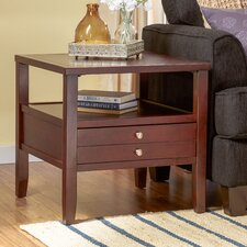 Merton 2 Drawer End Table