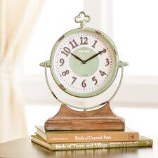 Sage Table Clock