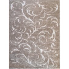 Canyon Contemporary Beige Area Rug