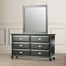 6 Drawer Dresser by Simmons Casegoods
