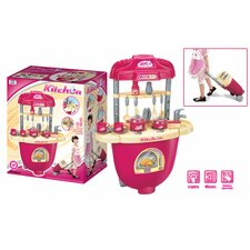 Carry Along Plastic Play Kitchen