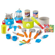 Little Explorer 21-Piece Complete Camping Play Set
