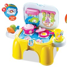 My First Portable and Carry Kitchen Play Set