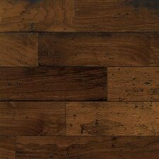"5"" Engineered Walnut Hardwood Flooring in Mesa Brown"