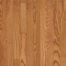 "4"" Solid Red Oak Hardwood Flooring in Butterscotch"