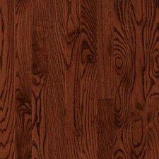 "4"" Solid Red Oak Hardwood Flooring in Cherry"