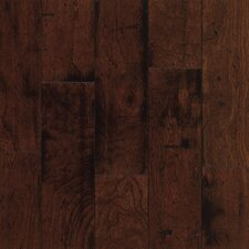 "5"" Engineered Cherry Hardwood Flooring in Sangria"