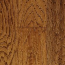 "5"" Solid Hickory Hardwood Flooring in Sunset Sand"