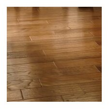"5"" Engineered Hickory Hardwood Flooring in Chateau Brown"