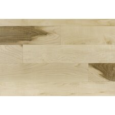 "3-1/4"" Solid Maple Hardwood Flooring in Pacific"