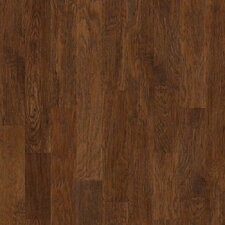 "Panorama 6-3/8"" Engineered Hickory Hardwood Flooring in Evening Glow"
