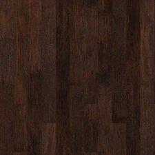 "5"" Engineered Hickory Hardwood Flooring in Espresso"