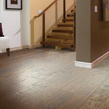 "Panorama 6-3/8"" Engineered Hickory Hardwood Flooring in Evening Glow"