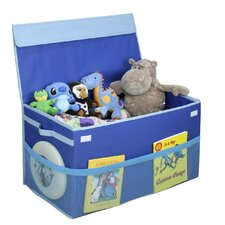 Collapsible Toy Box in Blue