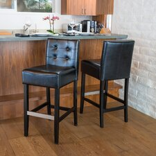 "Exclusives 30"" Bar Stool with Cushion (Set of 2)"