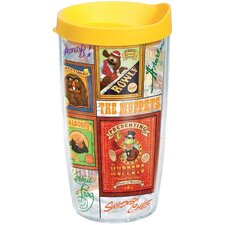 Disney Muppets Poster 16 Oz. Tumbler with Lid