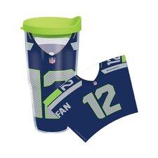 NFL Seattle Seahawks 12th Man 24 Oz. Tumbler