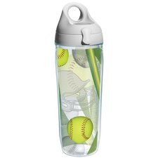 Game On Softball Water Bottle