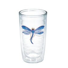Garden Party Dragonfly Shimmer 16 Oz. Tumbler