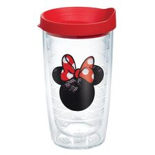 Disney Minnie Mouse Sequins 16 Oz. Tumbler with Lid