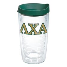 Greek Lambda Chi Alpha 16 Oz. Tumbler with Lid