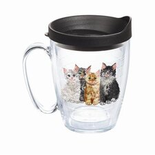 Pets Kittens Mug with Lid
