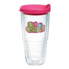Totally Kids So Cute 24 Oz. Tumbler with Lid