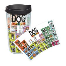 Pets Dog Periodic Table 16 Oz. Tumbler with Lid