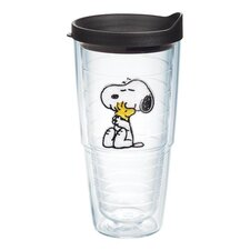 Peanuts Snoopy Woodstock 24 Oz. Tumbler with Lid