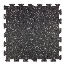 "23"" x 23"" x 8mm - Professional Grade Rubber Tile (Set of 9)"