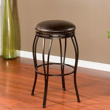 "Romano 30"" Swivel Bar Stool with Cushion"