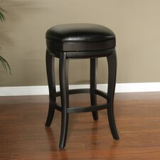 "Madrid 26.5"" Swivel Bar Stool with Cushion"