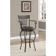 Trinity Swivel Bar Stool with Cushion