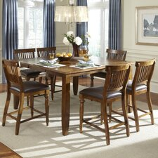 Delphina 7 Piece Counter Height Pub Set