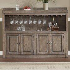 Martino Bar Cabinet with Wine Storage