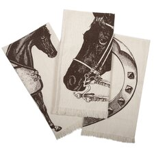 Thoroughbred Hand Towel (Set of 3)