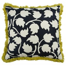 "Vines 22"" Linen Throw Pillow"